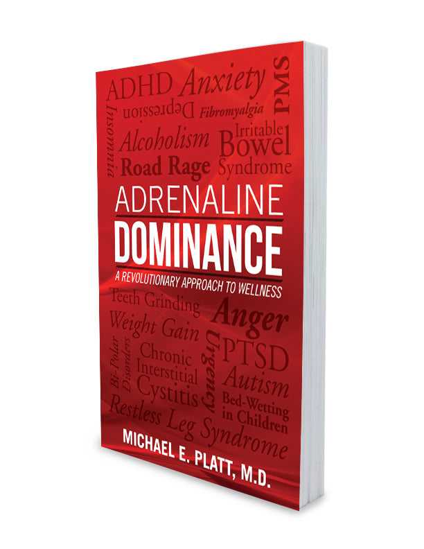 """Adrenaline Dominance"" – Book (Includes Free Meal Plan to Lower Adrenaline)"