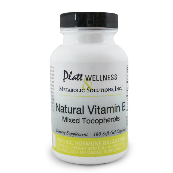 Natural Vitamin E (Mixed Tocopherols)
