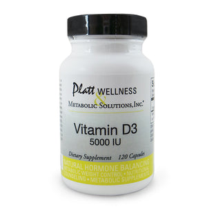 Vitamin D3 (5,000 units per capsule) - 10% Off through April