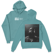 "Load image into Gallery viewer, ""Lead Me"" Front & Back Celedon Hoodie"