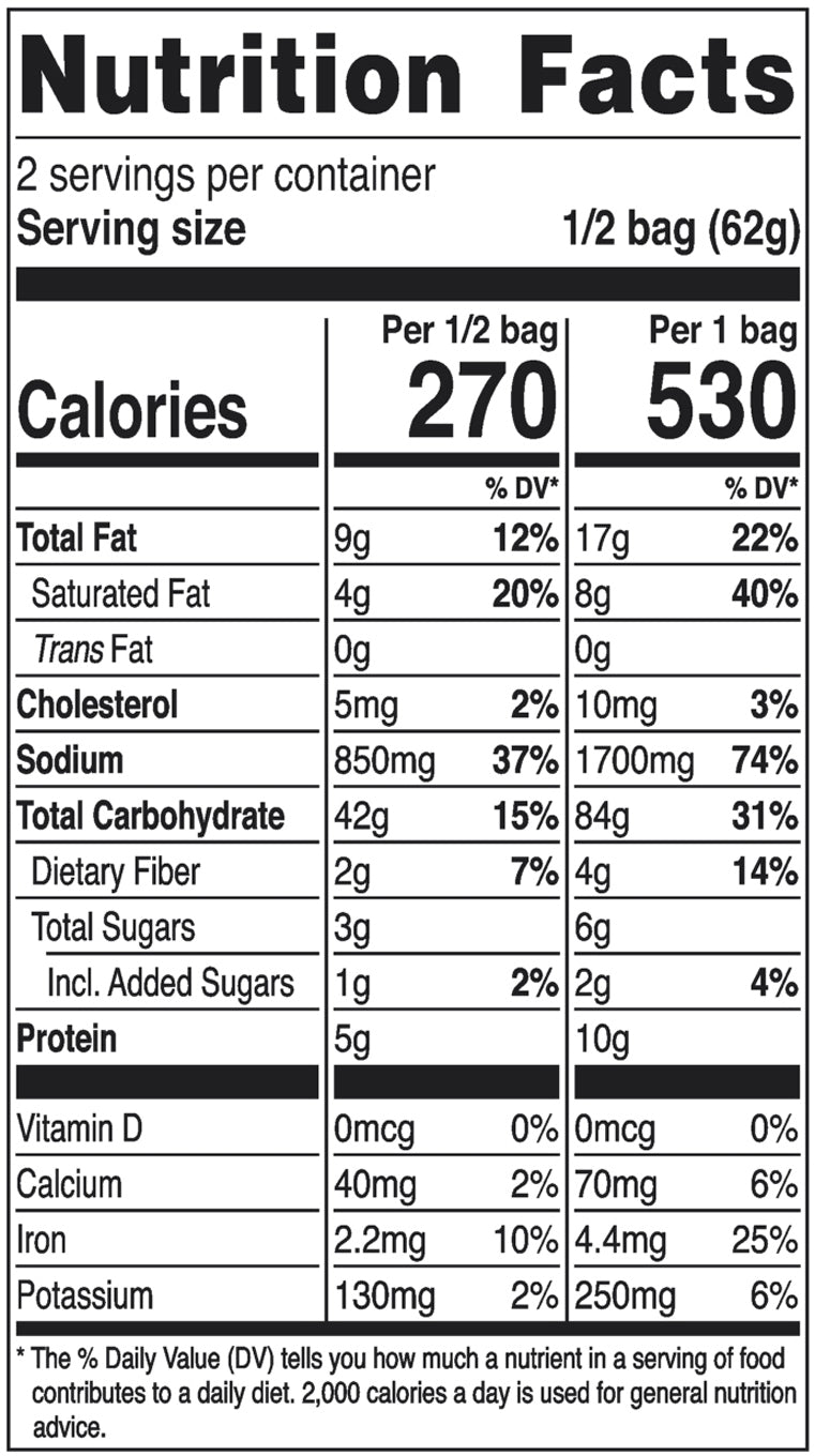 Nongshim Champong Noodle Soup Nutrition Facts