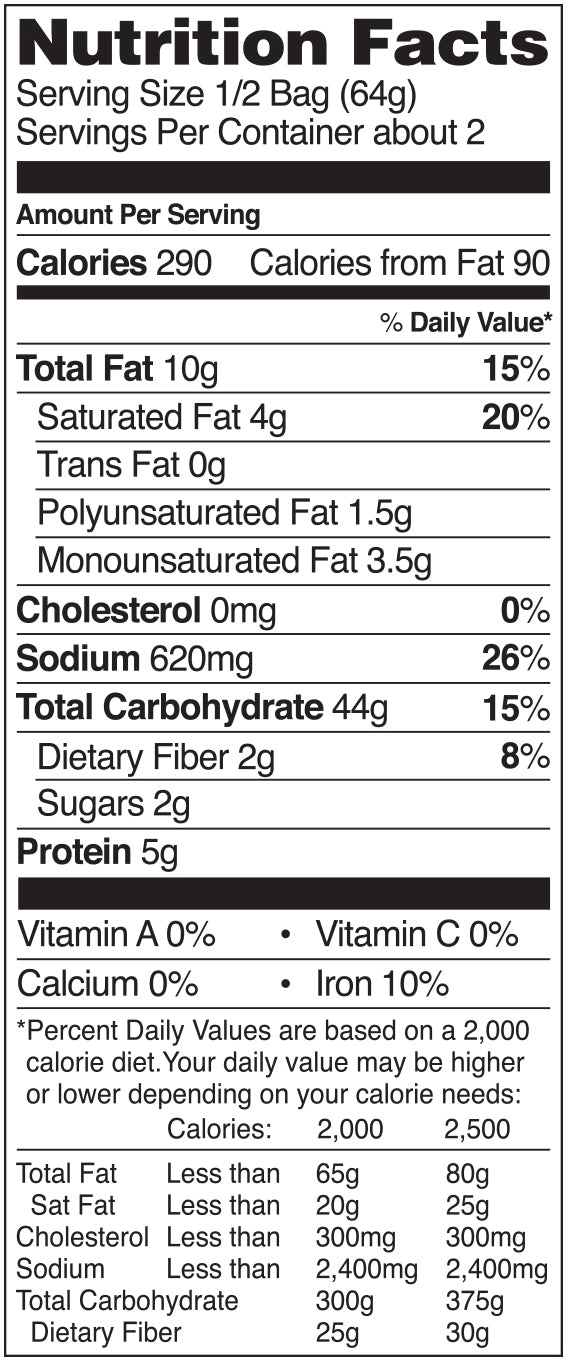 Nongshim Chapagetti Jiajang Noodle Nutrition Facts
