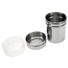 SOO JOO Stainless Steel Chocolate Powder Shaker