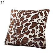 Pattern Plush Soft Comfortable Cushion Cover Bed Sofa Pillowcase Home Decor - West Fairy