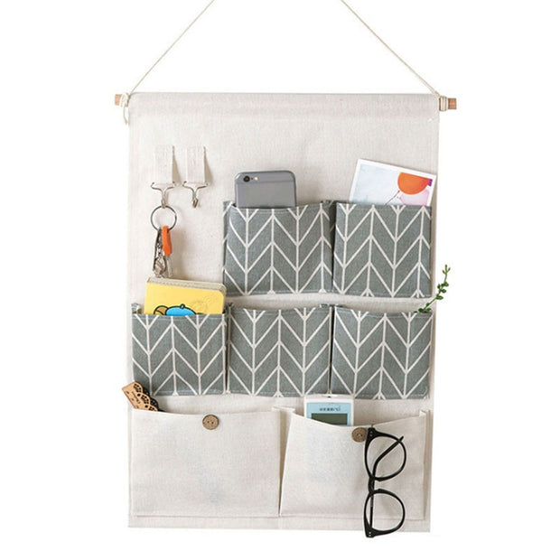 SOO JOO Waterproof Wall Hanging Storage Bag
