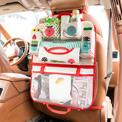 SOO JOO Multi-Pockets Car Seat Back Hanging Storage Organizer