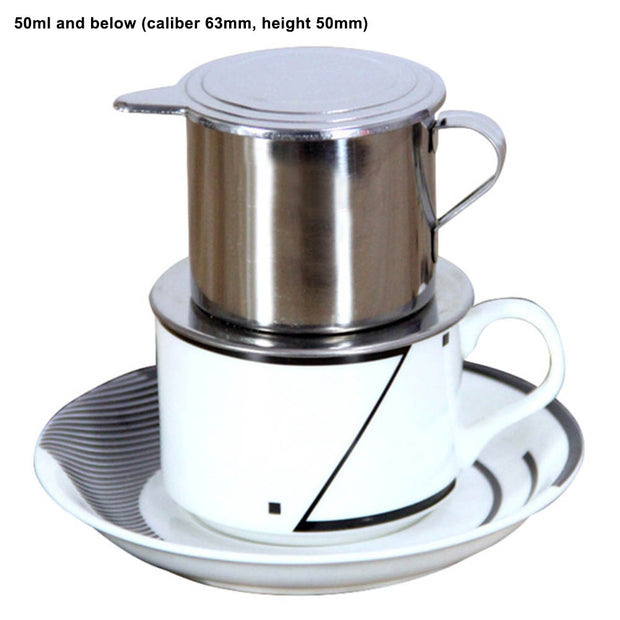 SOO JOO 50/100ml Vietnam Drip Coffee Maker