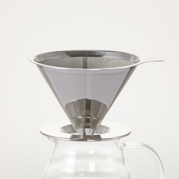 SOO JOO Reusable Stainless Steel Coffee Filter