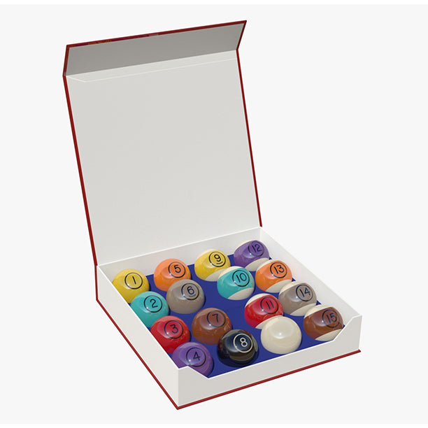DynaSpheres Tungsten 57.2mm Pool Ball Set