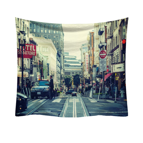 Possible City Wall Hanging Tapestry - West Fairy