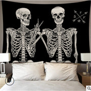 Hi! Magic Tarot Skeleton Wall Hanging Tapestry - Westfairy.com