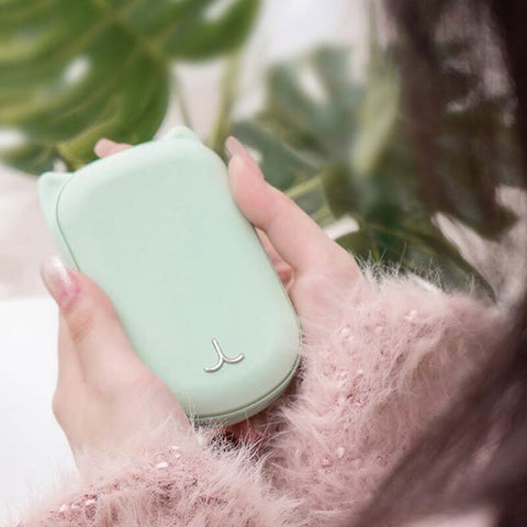 USB Rechargeable Hand Warmer 3600Ah 5V Multi-Function Power Bank