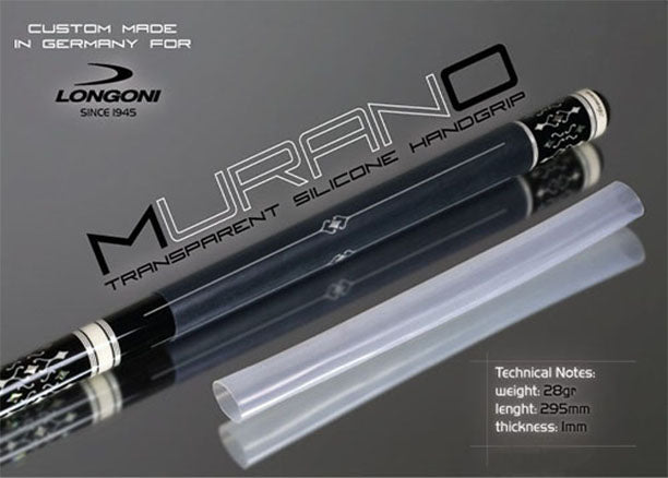 Longoni Murano Transparent Cue Grip - Westfairy.com