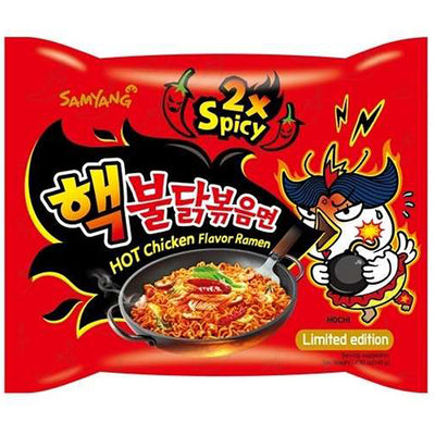 Samyang 2x Extreme Hot Chicken Ramen - Westfairy.com