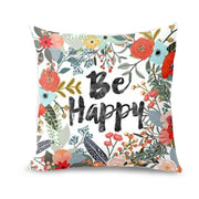 Thanksgiving Rectangle Cover Decor Pillow Case Sofa Waist Throw Cushion Cover E - West Fairy