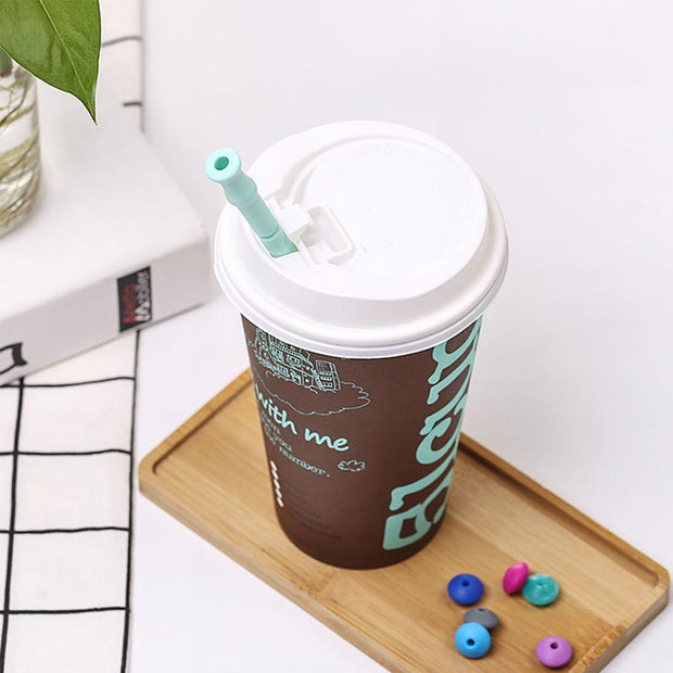 SOO JOJO Silicone Reusable Straw with Carrying Case - Westfairy.com