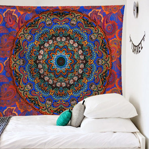 Indian Mandala Wall Hanging Tapestry - West Fairy