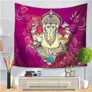 Floral Mandala Wall Hanging Tapestry - West Fairy