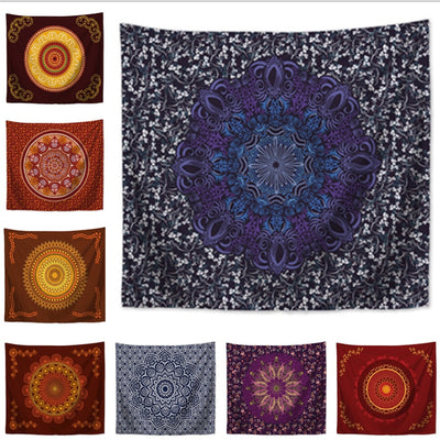 TANS Mandala Wall Hanging Tapestry - West Fairy