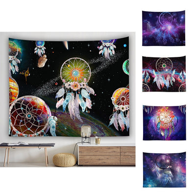 Galaxy Dream Catcher Wall Hanging Tapestry - West Fairy