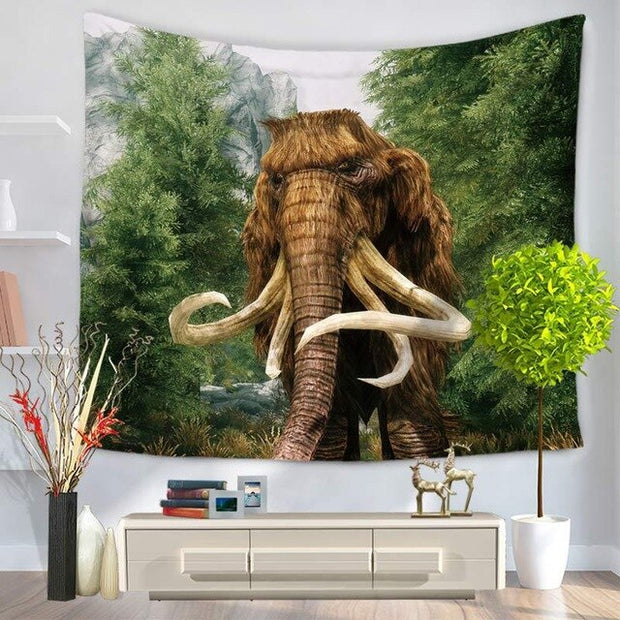 TANESN Elephant Wall Hanging Tapestry - Westfairy.com