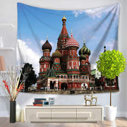 Nation Landmark Wall Hanging Tapestry - West Fairy