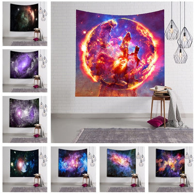 X-Bang Galaxy Wall Hanging Tapestry - West Fairy