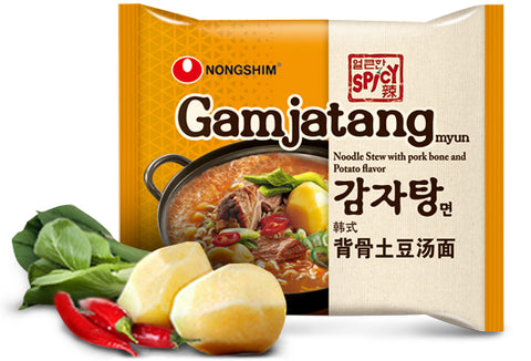 Nongshim Gamjatangmyun Noodle Soup Pack 133g