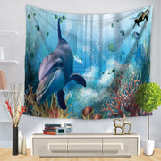 Marine Sea Life Wall Hanging Tapestry - Westfairy.com