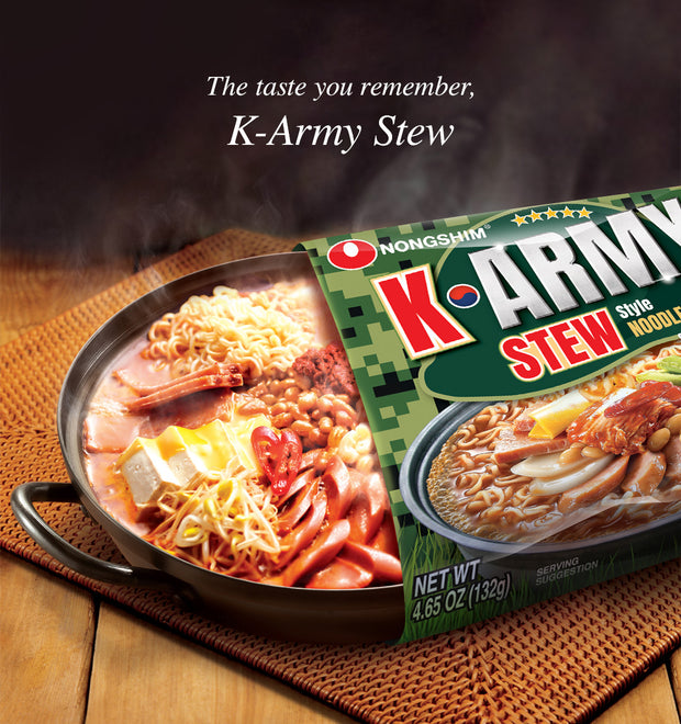 Nongshim K-Army Stew Noodle Soup Pack 132g