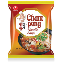 Nongshim Spicy Champong Noodle Soup Pack 124g