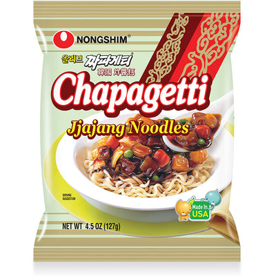 Nongshim Chapagetti Jiajang Noodle Pack 127g - Westfairy.com