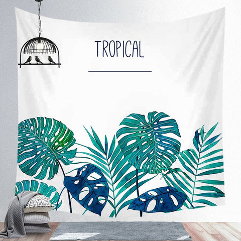 Aloha Tropicana Wall Hanging Tapestry - West Fairy