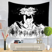 BLACK Lover Pop Wall Hanging Tapestry - Westfairy.com