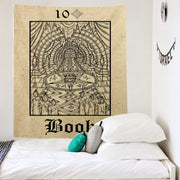 CASERS Tarot Witchcraft Wall Hanging Tapestry - West Fairy