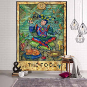 Europe Ancient Witchcraft Wall Hanging Tapestry - West Fairy