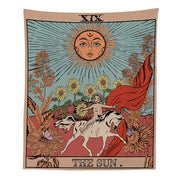 THE SUN THE MOON THE STAR Wall Hanging Tapestry - West Fairy
