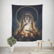 Galaxy Wildlife Wall Hanging Tapestry - West Fairy
