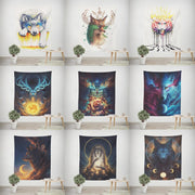 Galaxy Wildlife Wall Hanging Tapestry - Westfairy.com