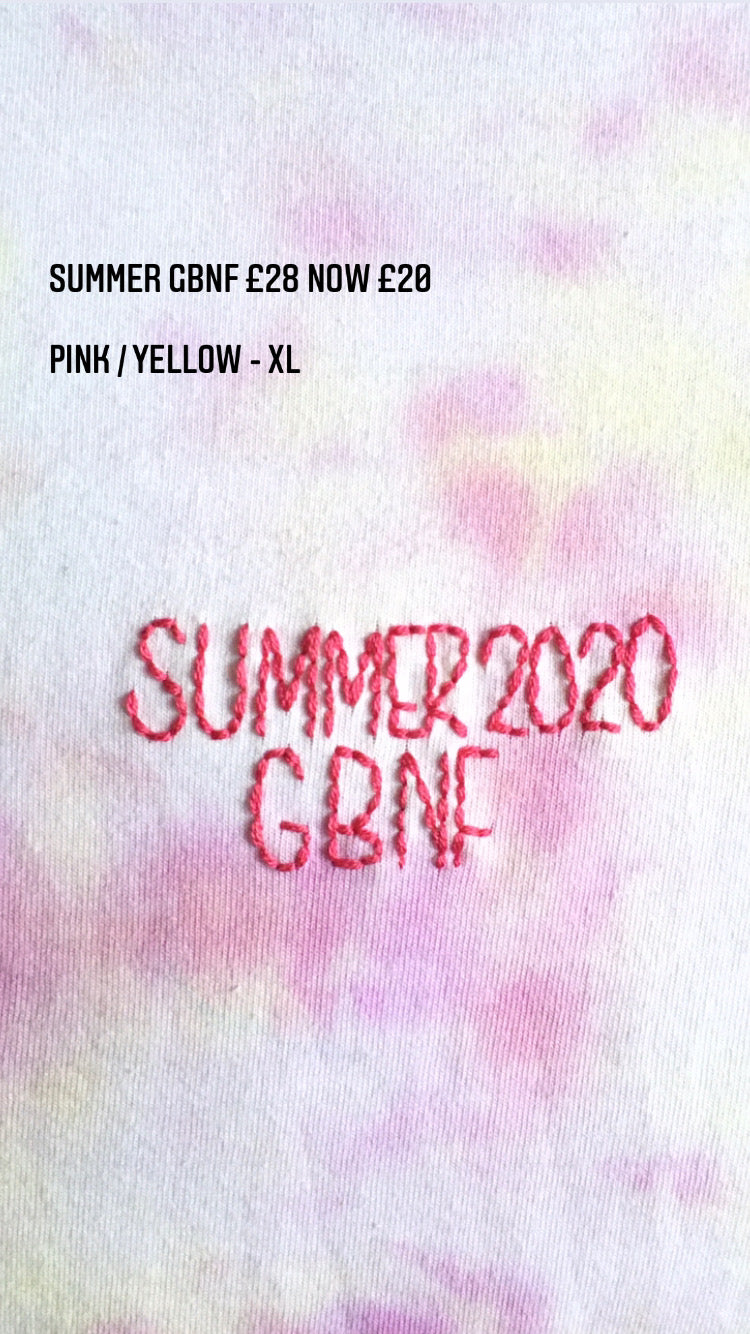 Summer 2020 GBNF - Xtra Large