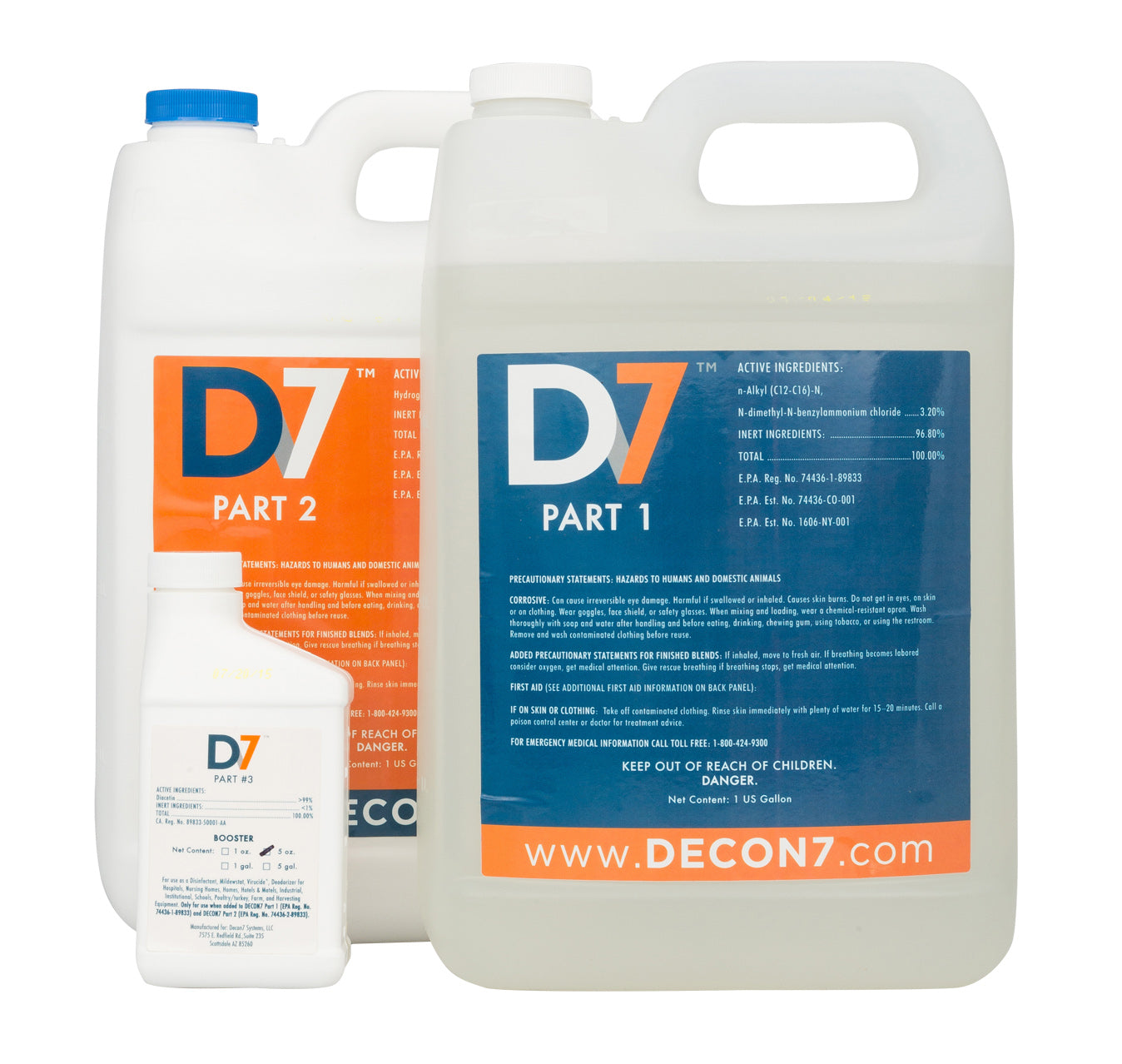 Decon7's D7 is globally recognized as one of the safest and best disinfectants to combat COVID-19 and other pathogens.