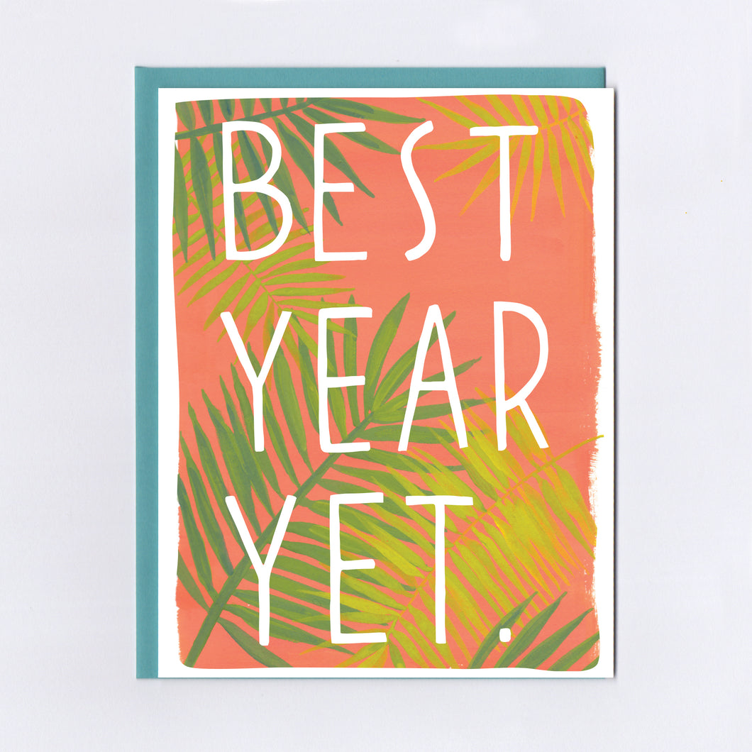 Best Year Yet - Greeting Card
