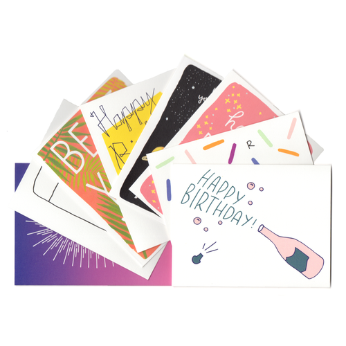 Birthday Bundle - Set of 8 Greeting Cards