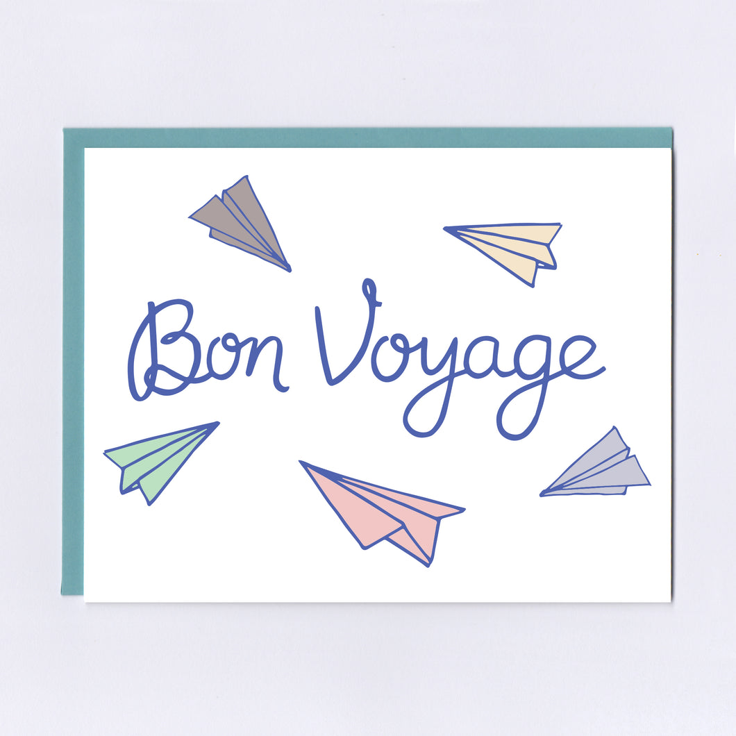Bon Voyage - Greeting Card