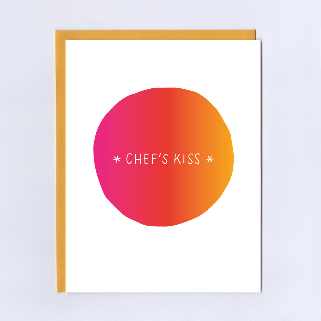 Chef's Kiss - Greeting Card