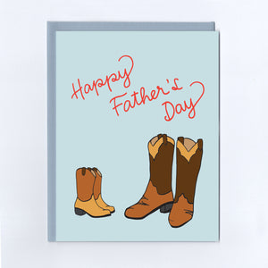 Cowboy Father's Day - Greeting Card