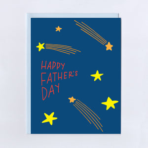Shooting Stars Father's Day - Greeting Card