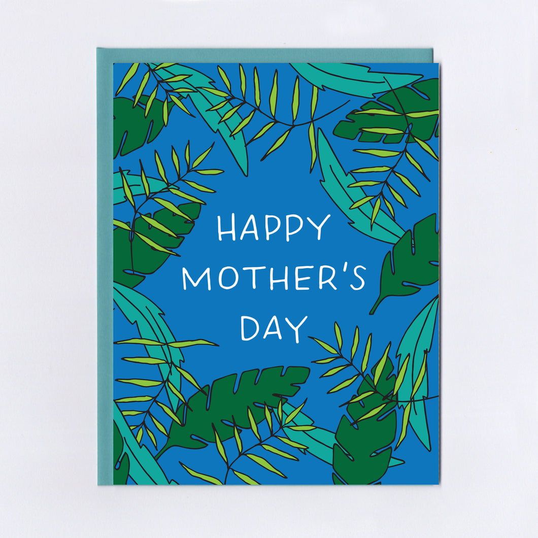 Foliage Mother's Day - Greeting Card