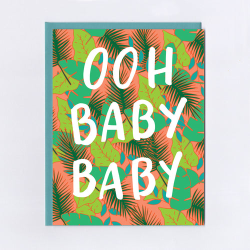 Ooh Baby Baby - Greeting Card