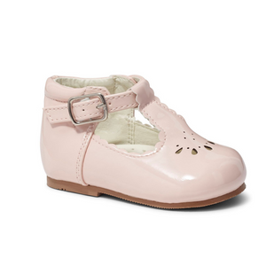 Tia Pink T-Bar Shoe